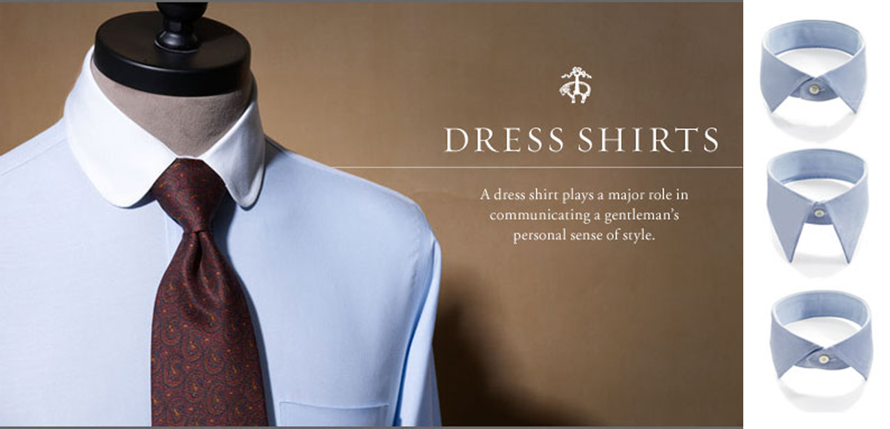 Back to the classics style atelier for Brooks brothers custom shirt
