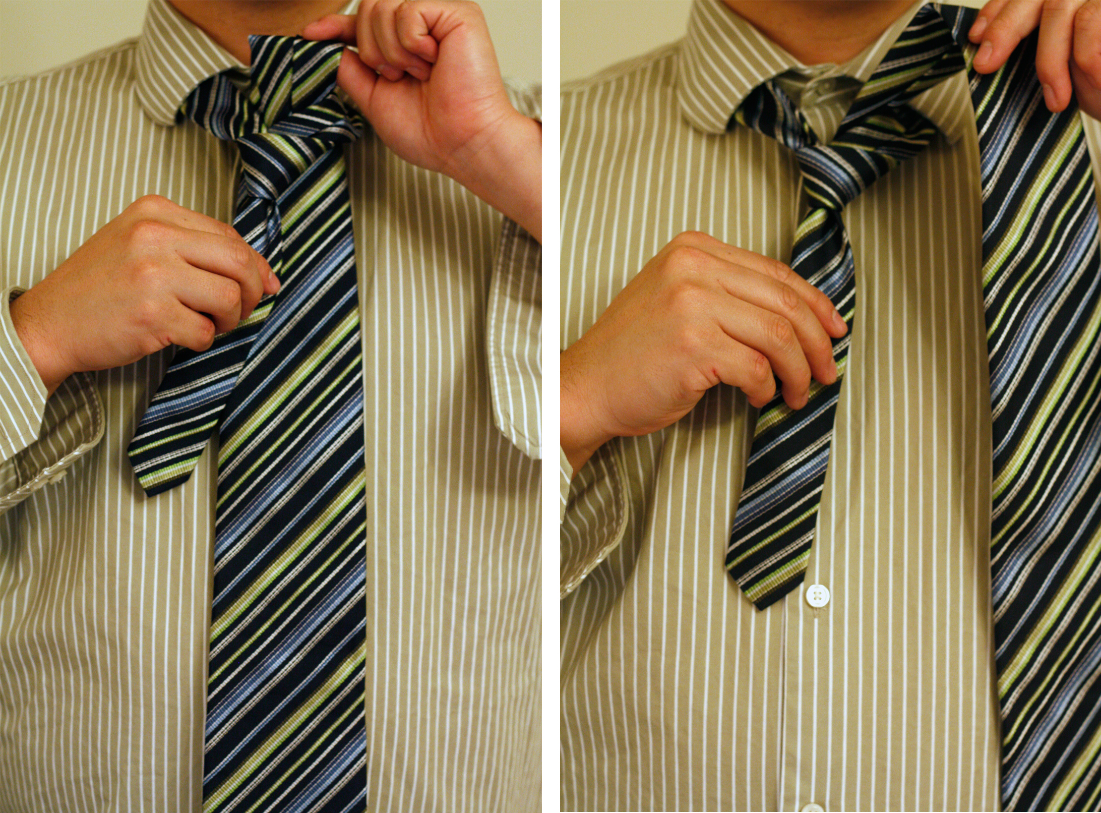 show me how to tie a windsor knot